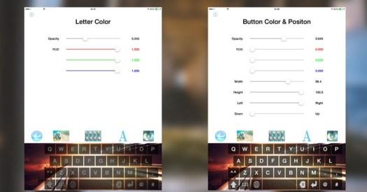 Cameleon keyboard, iTunes, aplikasi iOS