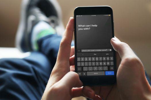 Type to Siri
