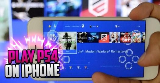 Cara Bermain Game PS4 di iPhone