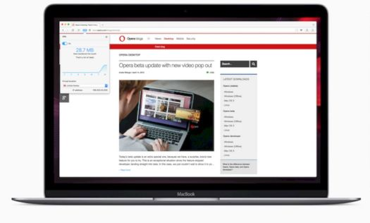 Opera VPN MacBook Air