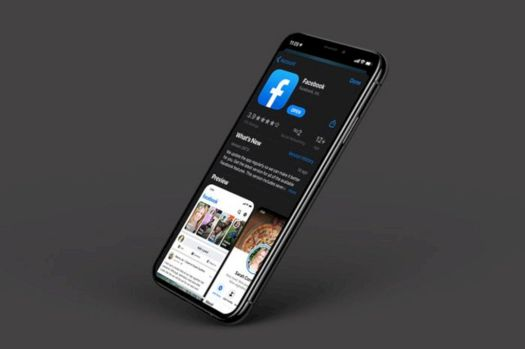 Tampilan Facebook For iOS