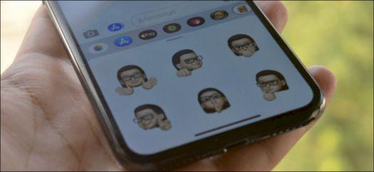 Cara Menggunakan Stiker Memoji di iPhone