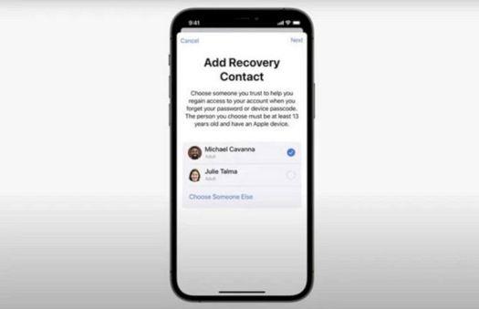 Cara Menambahkan Account Recovery Contact