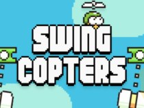 Swing Copters From Flappy Bird Creator Dong Nguyen Available In App Store
