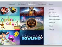 Apple TV expands App Store categories beyond games ,entertainment and sports..