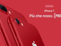Apple announces the special edition of the iPhone 7 and iPhone 7 Plus (Product) RED