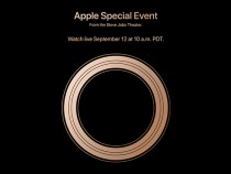 Apple event on September 12th at the Steve Jobs Theater!