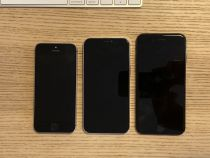 iPhone 12 5.4 ″ vs iPhone 7 vs iPhone SE: size comparison