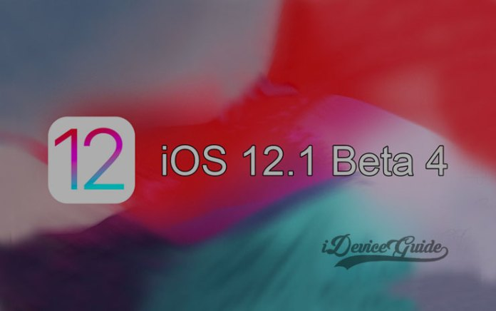 Apple releases iOS 12.1 Beta 4 to Registered Developers