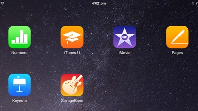 download free iMovie, GarageBand iWork apps mac iOS