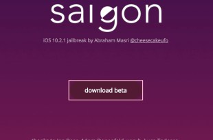 Download Saïgon jailbreak iOS 10.2.1 - iPhone