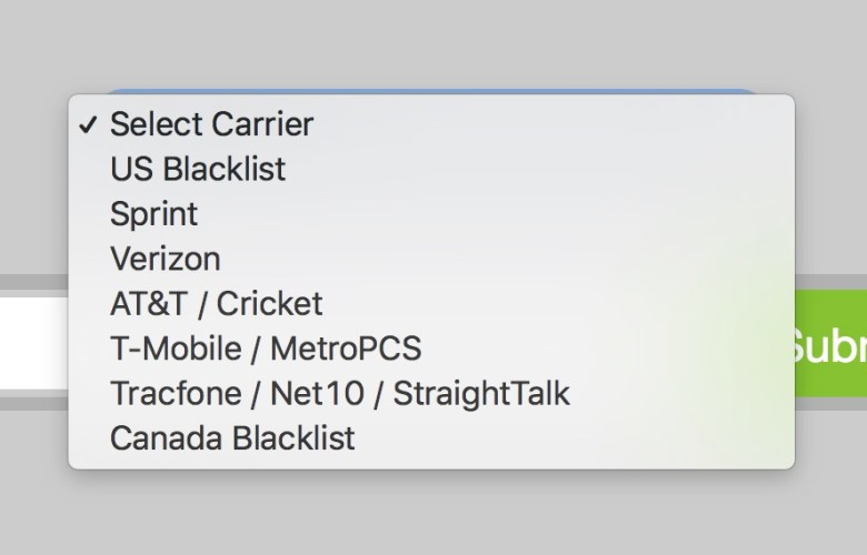 check iphone blacklist imei apple