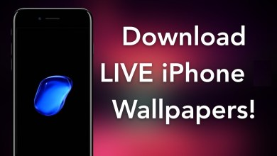 Multicolored wallpaper for IPhone and iPad iOS13