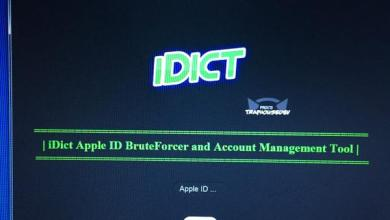 iCloud brute force password