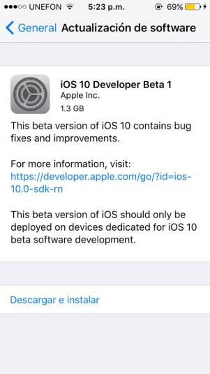 ios 10 beta profile