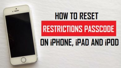 Restrictions Passcode Recovery software iOS