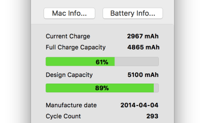 CoconutBattery be always aware of your current battery health iOS