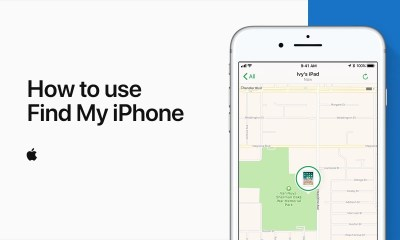 iCloud: Locate your device with Find My iPhone