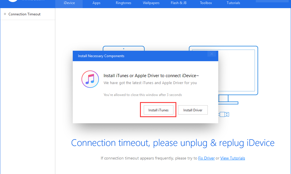Restore Apple Devices Without itunes using 3UTools