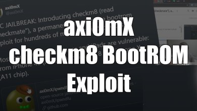 checkm8 bootrom exploit