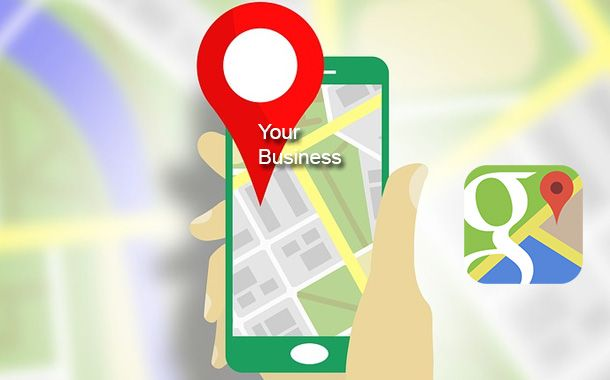 Business in Google Map