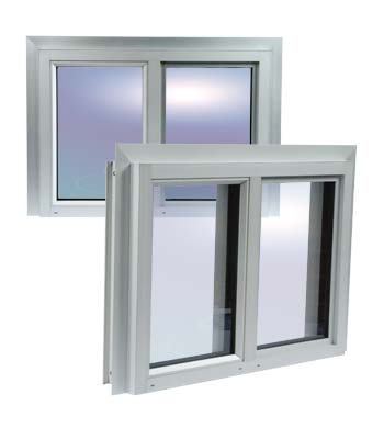 חלון אלומיניום למחסן ID GARDEN