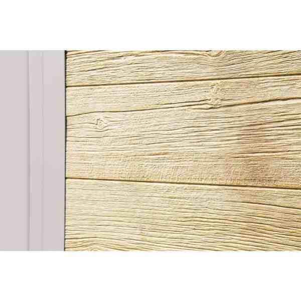 מחסן גינה משולב עץ ומתכת
