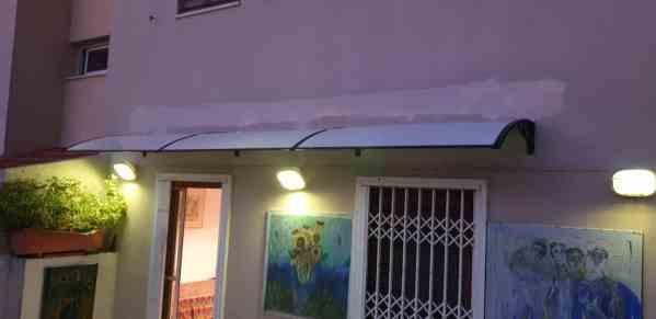 גגון גשם מעל חלון או דלת EMMA