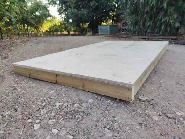 רצפת מחסן למשטח רך