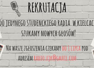 Rekrutacja w Radio Fraszka