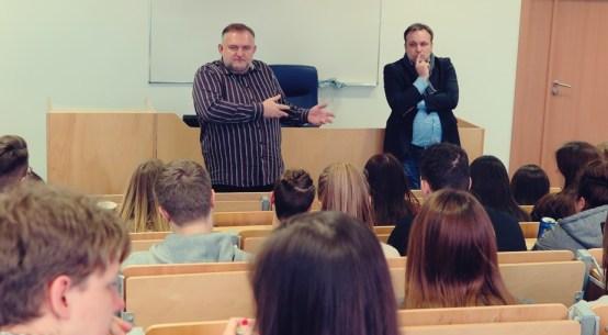 Tomasz Bilicki i Marcin Wąsiewicz