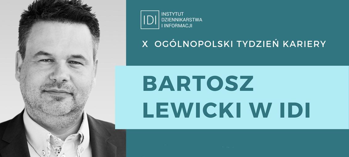 Bartosz Lewicki w IDI