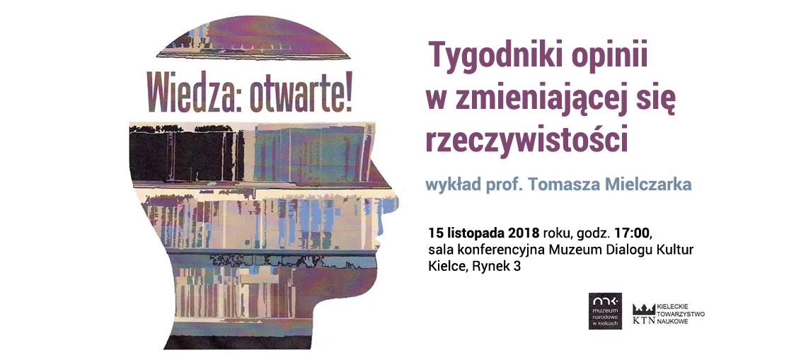 wykład prof. Tomasz Mielczarka