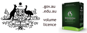 Nuance Dragon Dictate 2.0 for Mac - Volume site licence license for Government Education Academic and Commercial - Australia
