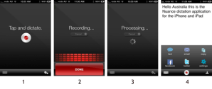 Voice to Text - Speech to Text - Nuance Dictation app for iPhone iPad