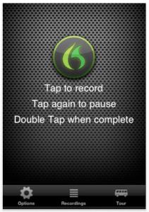 Nuance Dragon Recorder Screenshot