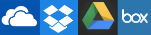 Share Large Audio Files Using Cloud Storage Solutions Like Dropbox, OneDrive, Box and Google Drive
