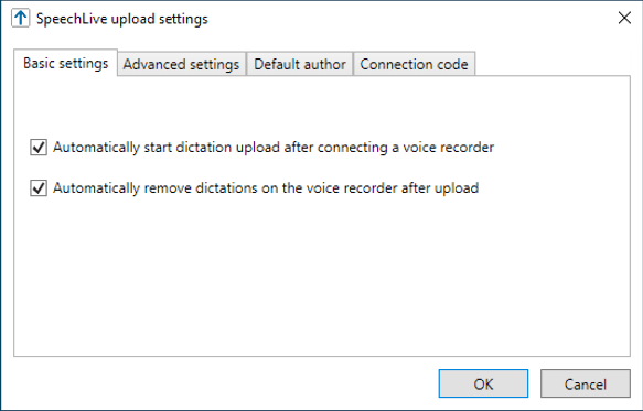 Philips SpeechLive Upload Client - Basic Settings Explained