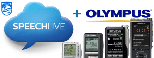 How to use Olympus digital voice recorders dictaphones with Philips SpeechLive Upload Client