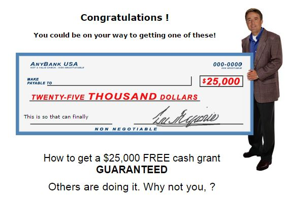 Free Grant Money Every day grants are awarded to individuals so they can attend private schools or college, and also to help with everyday living expenses and medical bills. Grant money is also awarded to businesses ranging from large corporate bail outs to helping average people start their own small business.