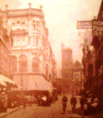 Temple Street before the Blitz