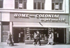 High Street Home and Colonial stores 1962