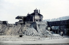 The demise of the LMS Railway station at St Thomas