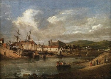 Painting - Ferryside at swansea