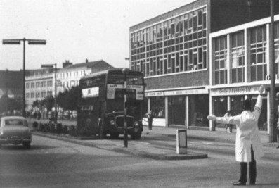 Swansea Kingsway early 1960s