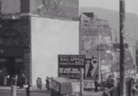 1952 Welcome lane Rebuilding in Castle Street Swansea