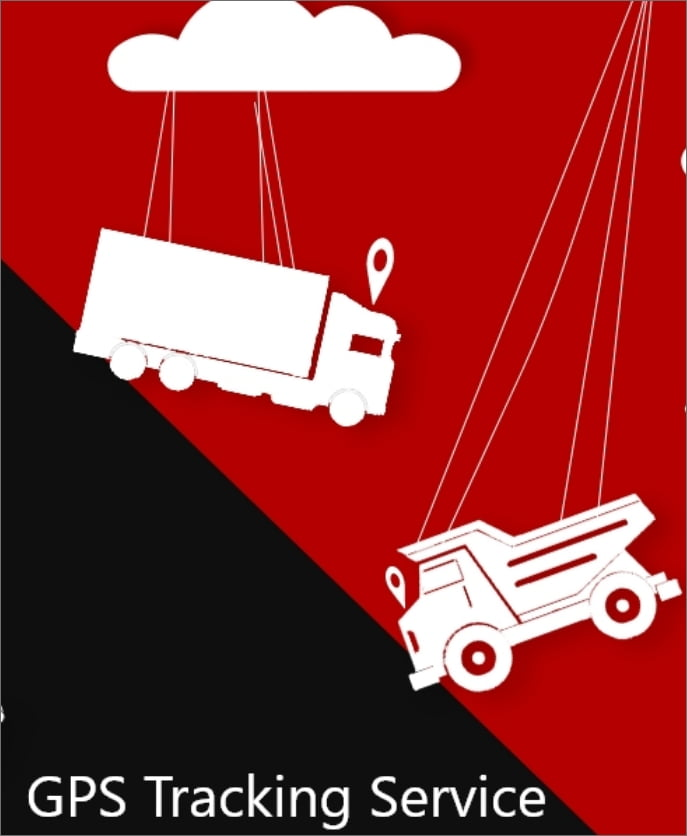 poster design for gps tracking