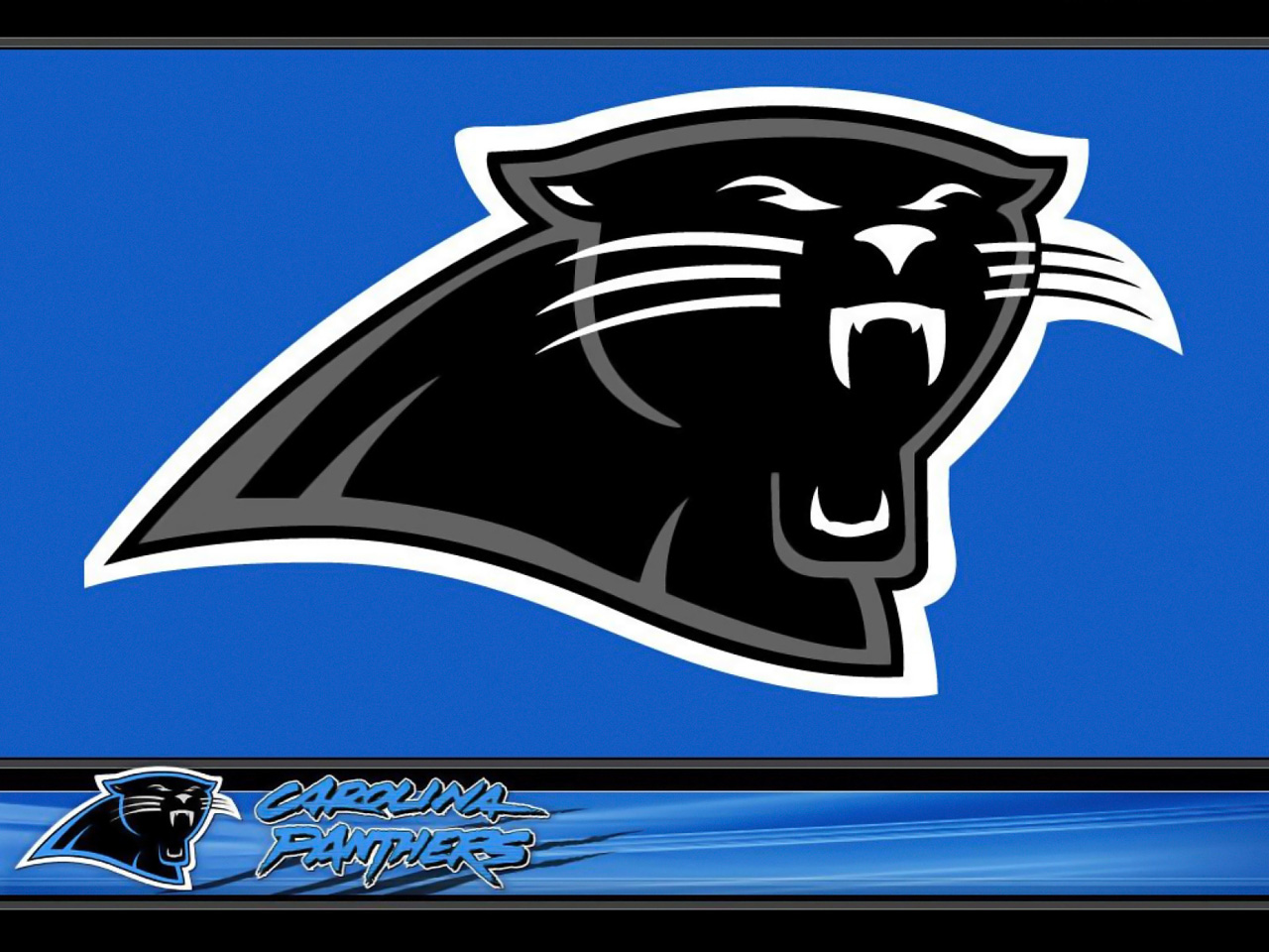 Printable Carolina Panther Logo