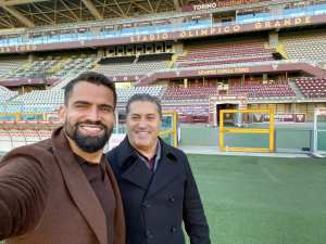 José Peseiro y Tomás Rincón