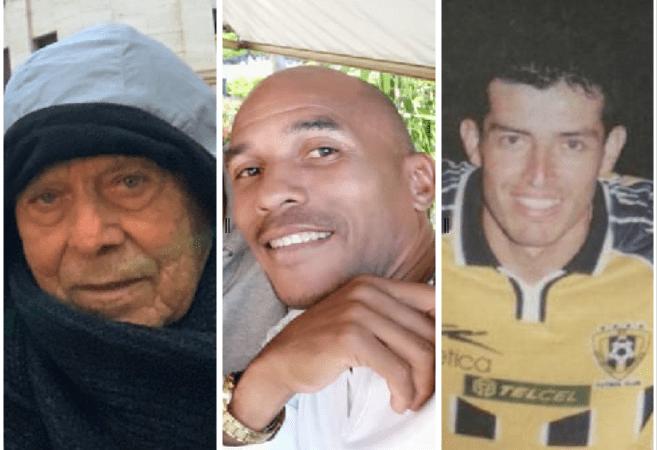 Nerio Hernández, David McIntosh y Elvis Martínez, tres papás geniales del fútbol venezolano.